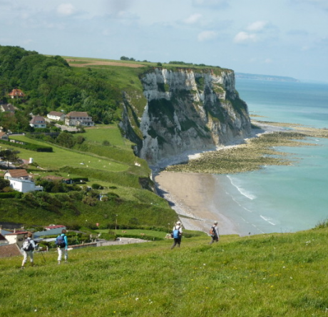 Normandy's cliffs