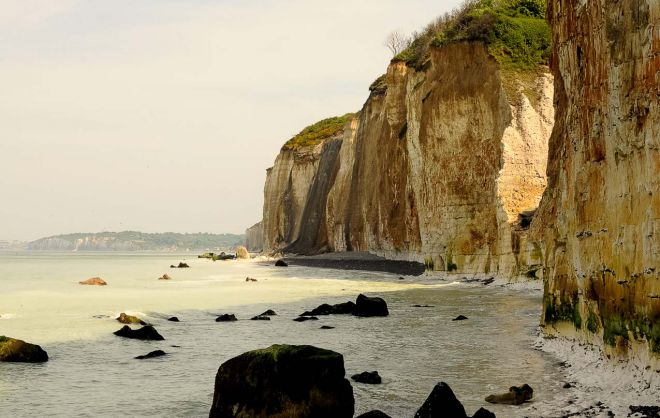 Dieppe's cliffs